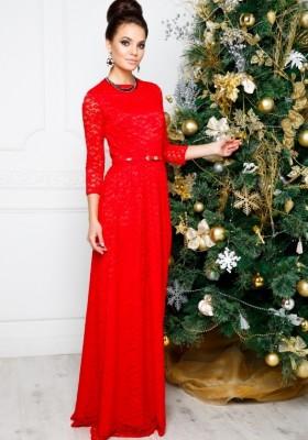 a8ebb6365c3c Купить платье длинное со шлейфом и открытой спиной 21009 розовое в ...