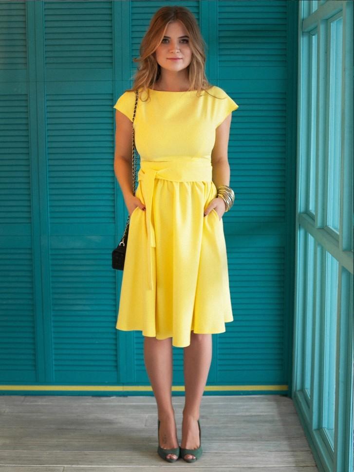 Желтое Платье Какие